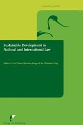 Avosetta Series Sustainable Development in National and International Law