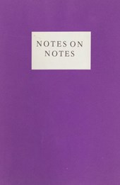 Notes on Notes