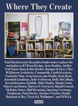 Where they create | Alexandra Onderwater ; Paul Barbera ; In Other Words |