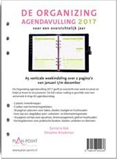 De Organizing Agendavulling 2017 - A5 verticale weekindeling over 2 pagina's