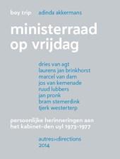 Ministerraad op vrijdag