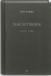 Nachtboek 1978-1982 | Jan Fabre |