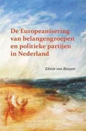 Pallas proefschriften De Europeanisering van belangengroepen en politieke partijen in Nederland