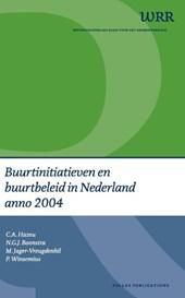 Buurtinitiatieven en buurtbeleid in Nederland anno