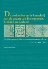 De oorkonden en de kanselarij van de graven van Henegouwen, Holland en Zeeland