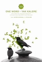 Iranian Studies Series One Word - Yak Kaleme