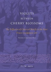 Violets between Cherry Blossoms