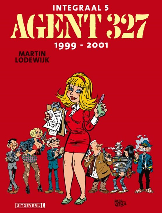 Agent 327 integraal Lu05. deel 5 1999-2001 luxe editie