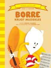 Borre krijgt muziekles