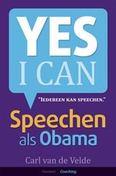 Speechen als Obama