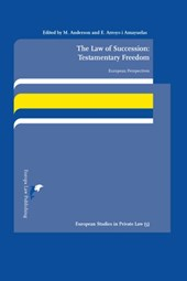 European Studies in Private Law The Law of Succession: Testamentary Freedom |  |