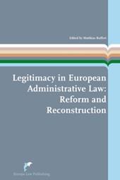 European Administrative Law Series Legitimacy in European Administrative Law