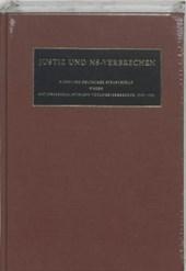 Nazi Crimes on Trial Justiz und NS-Verbrechen XL