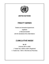 United Nations Treaty | United Nations Publications |