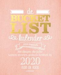 De bucketlistkalender voor koppels 2020 | Elise De Rijck |