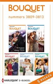 Bouquet e-bundel nummers 3809 - 3813 (5-in-1)