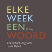 Elke week een woord.