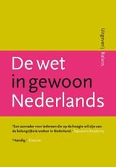 De wet in gewoon Nederlands