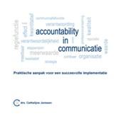 Accountability in communicatie