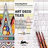 Art Deco Tiles - Colouring Card Book | Pepin Van Roojen |