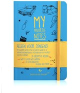 My favorite notes Alleen voor jongens | Thomas Beekman |