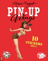 Pin-Up Wings stickers set | Romain Hugault |