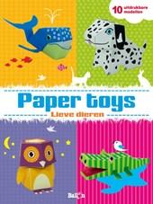 Paper Toys Dieren