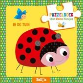 Puzzelboek voor kleine handjes In de tuin