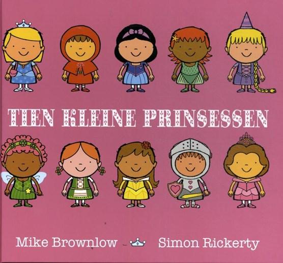 Tien kleine prinsessen