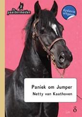 De paardenmeiden Paniek om Jumper - dyslexie uitgave