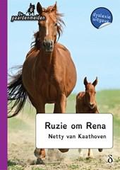 De paardenmeiden Ruzie om Rena - dyslexie uitgave