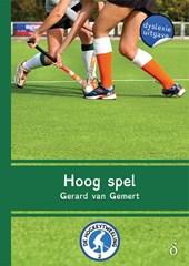 De Hockeytweeling Hoog spel - dyslexie uitgave