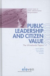 Public Leadership and Citizen Value |  |