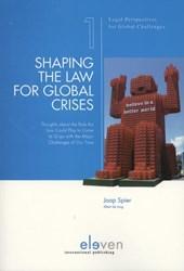 Legal Perspectives for Global Challenges Shaping the Law for Global Crises
