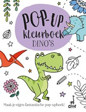 Pop-up kleurboek Dino's