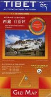 Tibet Geographical Map 1 :