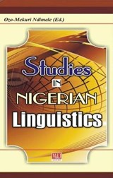 Studies in Nigerian Linguistics | Ozo-mekuri Ndimele |