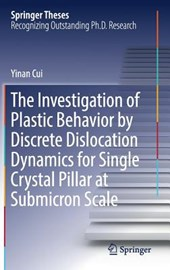 The Investigation of Plastic Behavior by Discrete Dislocation Dynamics for Single Crystal Pillar at Submicron Scale