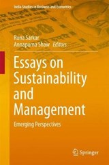 Essays on Sustainability and Management | auteur onbekend |