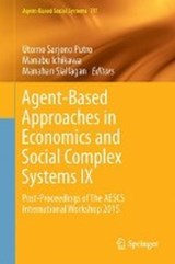 Agent-Based Approaches in Economics and Social Complex Systems IX |  |