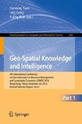 Geo-Spatial Knowledge and Intelligence |  |