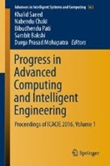 Progress in Advanced Computing and Intelligent Engineering | auteur onbekend |
