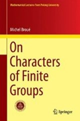 On Characters of Finite Groups | Michel Broué |