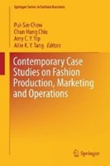 Contemporary Case Studies on Fashion Production, Marketing and Operations | auteur onbekend |