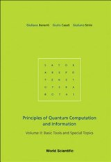 Principles of Quantum Computation and Information, Volume | Giuliano Benenti |