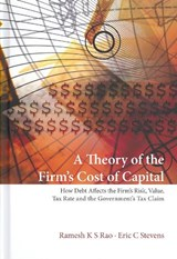 A Theory of the Firm's Cost of Capital | Rao, Ramesh K. S. ; Stevens, Eric C. |