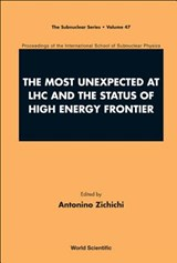 The Most Unexpected at LHC and the Status of High Energy Frontier | auteur onbekend |