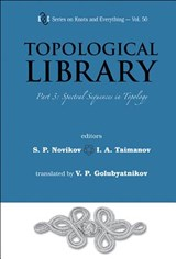 Topological Library - Part 3: Spectral Sequences In Topology | Novikov, Serguei Petrovich ; Taymanov, Iskander A |