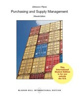 Purchasing and Supply Management | P. Fraser Johnson |