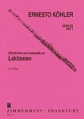 20 leichte und melodische Lektionen op. 93 Heft 1 für Flöte solo